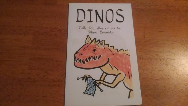 James got this from Allison Bannister because he likes dinos doing incongruous things.