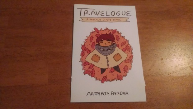 Travelogue is such a good comic. It's pleasant in a way that's difficult to describe. We know this because James spent a few halting minutes trying to describe what he found so nice about the comic to the extremely kind creator, and he had a lot of trouble. Suffice to say it is great and the creator is really nice.